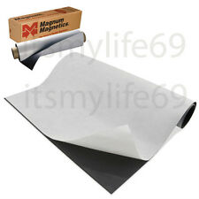 """Self-Adhesive MAGNET Magnum Magnetic Canvas Sheet Roll 12"""" x 24"""" 20 mil."""