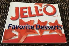 Jell-O (2007, Hardcover) Favorite Desserts Jell-O Molds, Pies, Cakes, Salads