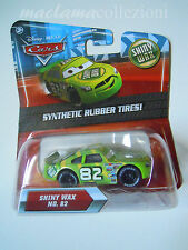 CARS Disney pixar cars SHINY WAX nr.82 synthetic rubber tires ! 1/55 mattel