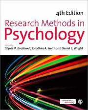 Research Methods in Psychology (2012, Paperback)