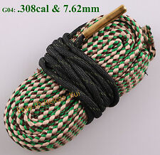 Bore Cleaner Fit Caliber.308 30-30 30-06 300 303 Cal & 7.62mm Gun Cleaning