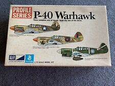 MPC Profile Series P-40 Warhawk - 1/72 Scale