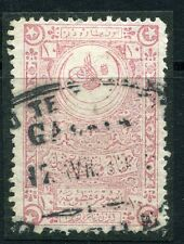 TURKEY;   1900s early classic Fiscal/Revenue issue fine used 1Pi. Postmark