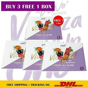 3X Vene Vicenza All In One White Aura Boot Skin Cellular Level Healthy Drink Pow
