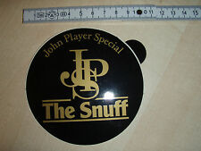 Aufkleber John Player Special The Snuff 80er Sticker JPS