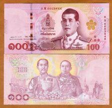 Thailand, 100 Baht, ND ( 2018), P-New, S-Prefix, UNC > Scarce REPLACEMENT
