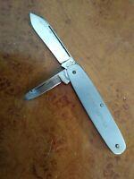 VINTAGE 1918 UTICA CUTLERY CO.UTICA N.Y. KUTMASTER SENECA STAINLESS POCKET KNIFE