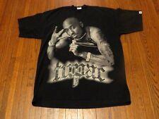 Men's Vintage 2Pac Tupac Shakur Studded Jewelry Hip-Hop Rap T-Shirt sz 3XLT