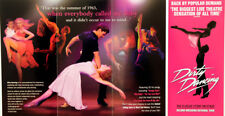 DIRTY DANCING 2013 PALACE THEATRE MANCHESTER FLYERS X 2