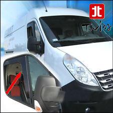 Déflecteurs vent pluie air teintées Renault Master Opel Movano III depuis 2010