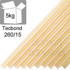 TECBOND 260/15 Hot Melt 15mm, 5Kg Very High Performance Glue sticks
