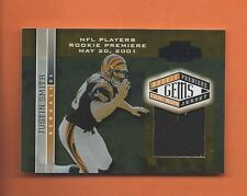 2001 PLAYOFF HONORS RC JUSTIN SMITH JERSEY #d 605/725 CINCINNATI BENGALS