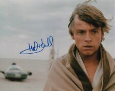 STAR WARS MARK HAMILL LUKE SKYWALKER SIGNED 10x8 INCH LAB PRINTED PHOTO