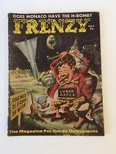 Frenzy #1 (April 1958) VG Copy of Satirical Comic by James Stewart Gordon