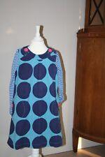 Mini Boden* Kleid Tunika Trägerrock Punkte*Polka Dots*Cord 7-8J 122 128 134 TOP