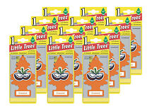 Little Trees Hanging Car and Home Air Freshener, Coconut Scent – Pack of 12