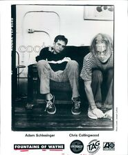 1996 Adam Schlesinger Chris Collingwood Fountains of Wayne Band Press Photo