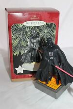 Hallmark Magic Star Wars Darth Vader 1997 light and voice, works great