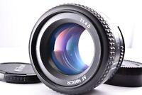 Mint Nikon AF Nikkor 50mm f/1.4 D Lens Prime Auto Focus SLR Macro From Japan cap