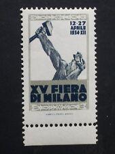 RARO ERINNOFILO FIERA DI MILANO 1934