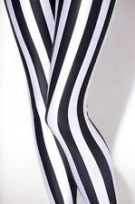 Mujeres Leggings Negro Y Blanco De Rayas Estampado Calzas Galaxia Leggings S-4XL 68