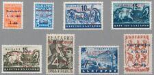 Mazedonien Mi.Nr. 1-8 einwandfrei postfrischer Satz mit Fotobefund Brunel VP