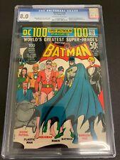 BATMAN #238 * CGC 8.0 * (DC, 1972)  100 PAGE GIANT!!  NEAL ADAMS COVER!!  DC-8