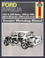 0001 Haynes Ford Anglia (1959 - 1968) Workshop Manual