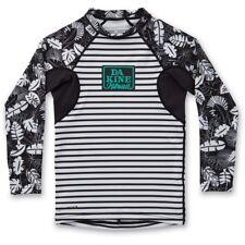 New 2017 Dakine Girls Youth Classic L/S Rashguard Swim Shirt Size 8  Inkwell