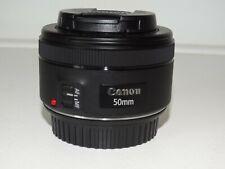 zoom numérique Canon  EF LENS 50 mm 1.1.8 STM Protections avant & arrière