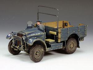 King & Country RAF037 Morris CS8 British 15 Cwt Truck RAF Series MIB
