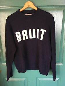 Undercover 'Bruit' Sweater Size 3, fits S-M, navy.