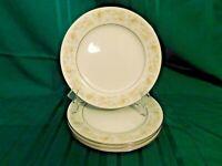 J2 - Noritake Fine China Blossom Time Salad Plates Lot of 4