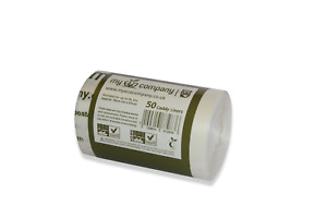 5L - 6L Compostable Kitchen Food Waste Caddy Liners / Biodegradable Bin Bags 5l