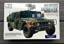 TAMIYA 1/35 U.S. ARMY M1025 HUMVEE ARMAMENT CARRIER W/ 2 FIGURES MODEL 35263 F/S