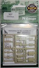 New  Ratio Chimneys 307 N Gauge