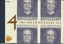PRESTIGEBOEKJE 43 - PR43 - NEDERLAND 2012 - DAG VAN DE POSTZEGEL