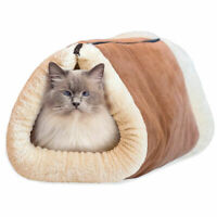 Tapis Coussin Lit Sac De Couchage pour Chien Chat Animaux Bed Sleeping Zipper