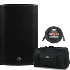 Mackie Thump 15 A 1300W Powered Speaker 2017 Version with Gator Bag + XLR Cable