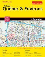 Quebec City Street Atlas Map Book MapArt Publishing 2018
