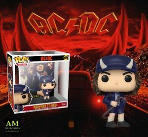 Funko Pop Rocks - Album - AC/Dc Highway To Hell - Angus Young Figura Vinile