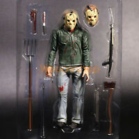 "NECA Friday The 13th Part III Jason Voorhees7"" Action Figure Ultimate Collector"