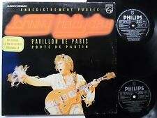 JOHNNY HALLYDAY Live Pavillon De Paris 2-LP Porte De Pantin FRANCE French