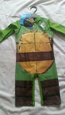 Boys UV Swimsuit Ninja Turtles UV Sun Protection Sunsafe Surfsuit. 2 to 3 years