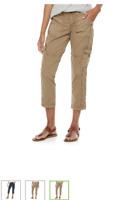 Women's Sonoma Cargo Capri Pants