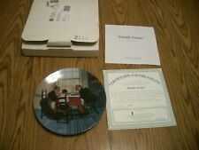 1998 Norman Rockwell Heritage Collection #22 Collector Plate Family Grace