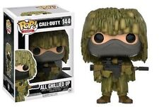 Funko Pop Vinyl Call of Duty 2 All Ghillied up Collectable Figurine Model No144