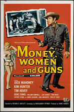 "Money Women and Guns Movie Poster Replica 13x19"" Photo Print"