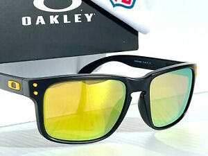 NFL Oakley Holbrook Pittsburg STEELERS POLARIZED Galaxy Gold Sunglass 9102