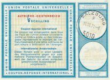Austria  International Reply Coupon   6 on 4 Sh Salzburg